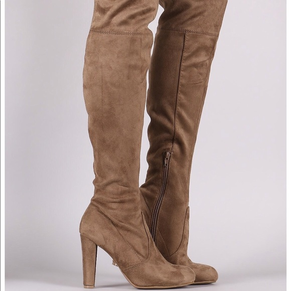 Charlotte Russe Shoes   Amaya Thigh